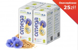 essentiALA Pure Essence 4x120 ml - czysta Omega369