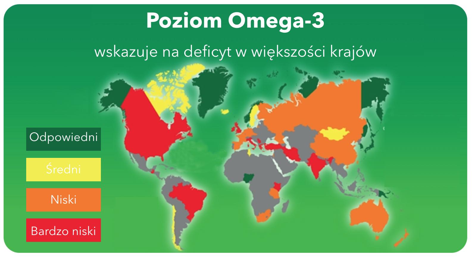 Mapa Omega-3